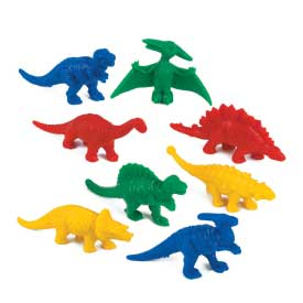 Diggin' Those Dino Counters - Set of 128