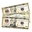 Paper Money - $10 - Set of 1000