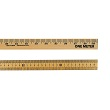 Wooden Meter Stick: Plain Edge
