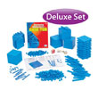 Base Ten Deluxe Set: Blue Plastic in Tub