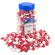 QuietShape® Two-Color Counters: Red/White - Set of 1000