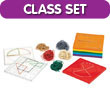 "7"" Double-Sided 5 x 5 Pin Grid Geoboard Classroom Kit"