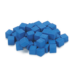 QuietShape® Foam Base Ten Units: Blue - Set of 1000