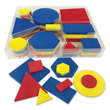 QuietShape® Foam Attribute Shapes - 10 Sets of 60 in Tub