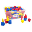 QuietShape® Foam GeoModel® Solids - 10 Sets of 10 in Tub