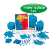 QuietShape® Base Ten Intermediate Set: Blue in Tub