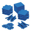 QuietShape® Base Ten Primary Set: Blue Foam