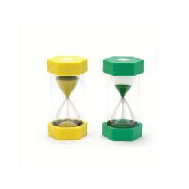 Large Sand Timer - 1 Minute: Green