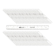 "12"" Ruler: Clear - Set of 50"