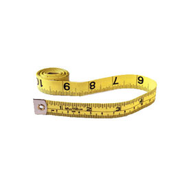 English/Metric Tape Measure: Yellow/Black - Set of 10