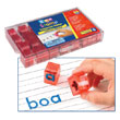 "Transparent Alphabet 1"" Stamps - Jumbo Lowercase"