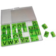 "Transparent Alphabet 1"" Stamps - Jumbo Uppercase"