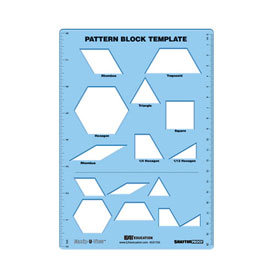 Block patterns math patterns gallery for Everyday math pattern block template