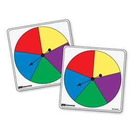 Student Spinners - 5 Color: Set of 5