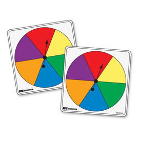 Student Spinners - 6 Color: Set of 5