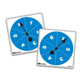 Student Spinners - Numbered 1-6: Set of 5