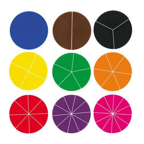 Fraction Circles for Pinterest