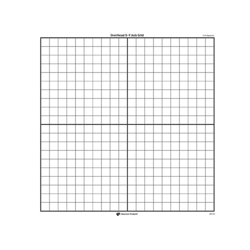 X-Y Axis Transparent Grid - Set Of 3 - Geometry