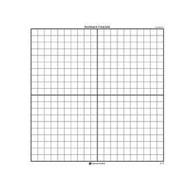 X-Y Axis Transparent Grid - Set of 3
