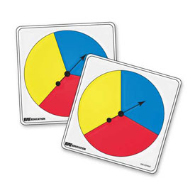 Student Spinners - 3 Color: Set of 5