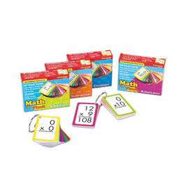 Math in a Flash: Color-Coded Flash Cards: Subtraction