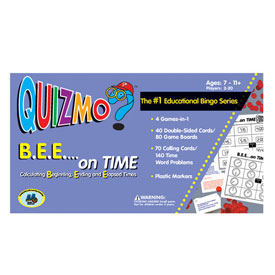B.E.E. On Time Quizmo®