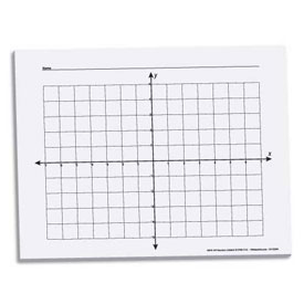 "X-Y Coordinate Graph Paper: 5/8"" - 100 Sheets"