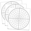 ClingGrids™ Polar Coordinate Pack - Set of 3