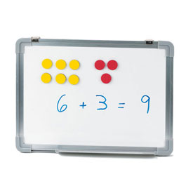 Magnetic QuietShape® Foam Two-Color Counters - Set of 50