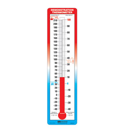 Hot 'n Cold Demonstration Thermometer: Classroom