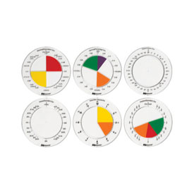 Equivalency Discs - Set of 6