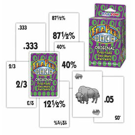 FraperDeck™ Original - Fractions, Decimals, Percents