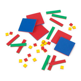 QuietShape® Foam Algebra Tiles - Standard Set of 35