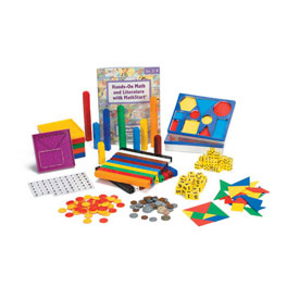 Hands-On Math and Literature with MathStart®: Level 3 Manipulative Kit: Grade 2-4