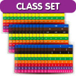 Fraction Tiles with Tray: Equivalency Classroom Set of 30