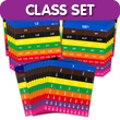 Fraction Tiles without Tray: Equivalency Classroom Set of 30
