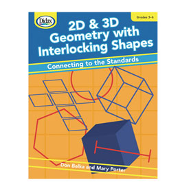 2D and 3D Geometry with Interlocking Shapes