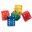 6-Sided Double Dice - Set of 72