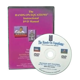 Hands-On Equations® Instructional Video Manual - DVD