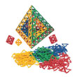 Polydron® Frameworks™: Bulk Pack: 160 Equilateral Triangles