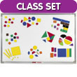 Magnetic QuietShape® Foam Classroom Set
