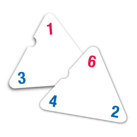 Three-Sided Flash Cards: Addition and Subtraction