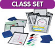 Quick Response® Classroom Kit with CleanWipe™ Cloths: Black
