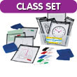 Quick Response® Classroom Kit with CleanWipe™ Cloths: Assorted Colors