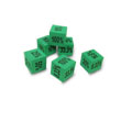 QuietShape® Percentage Dice - Set of 6