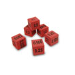 QuietShape® Decimal Dice - Set of 6