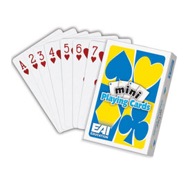 Mini Playing Cards