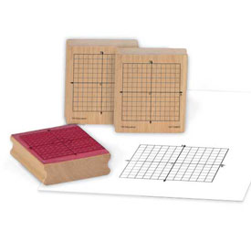 Wooden X-Y Axis Stamp: Set of 3