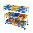 Manipulative Cart with Tubs