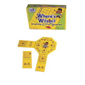 Where's Wilson Graphing Game